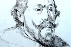 Studying Rembrandt