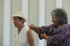 Dunnellon Workshop -working out each other's artistic tensions