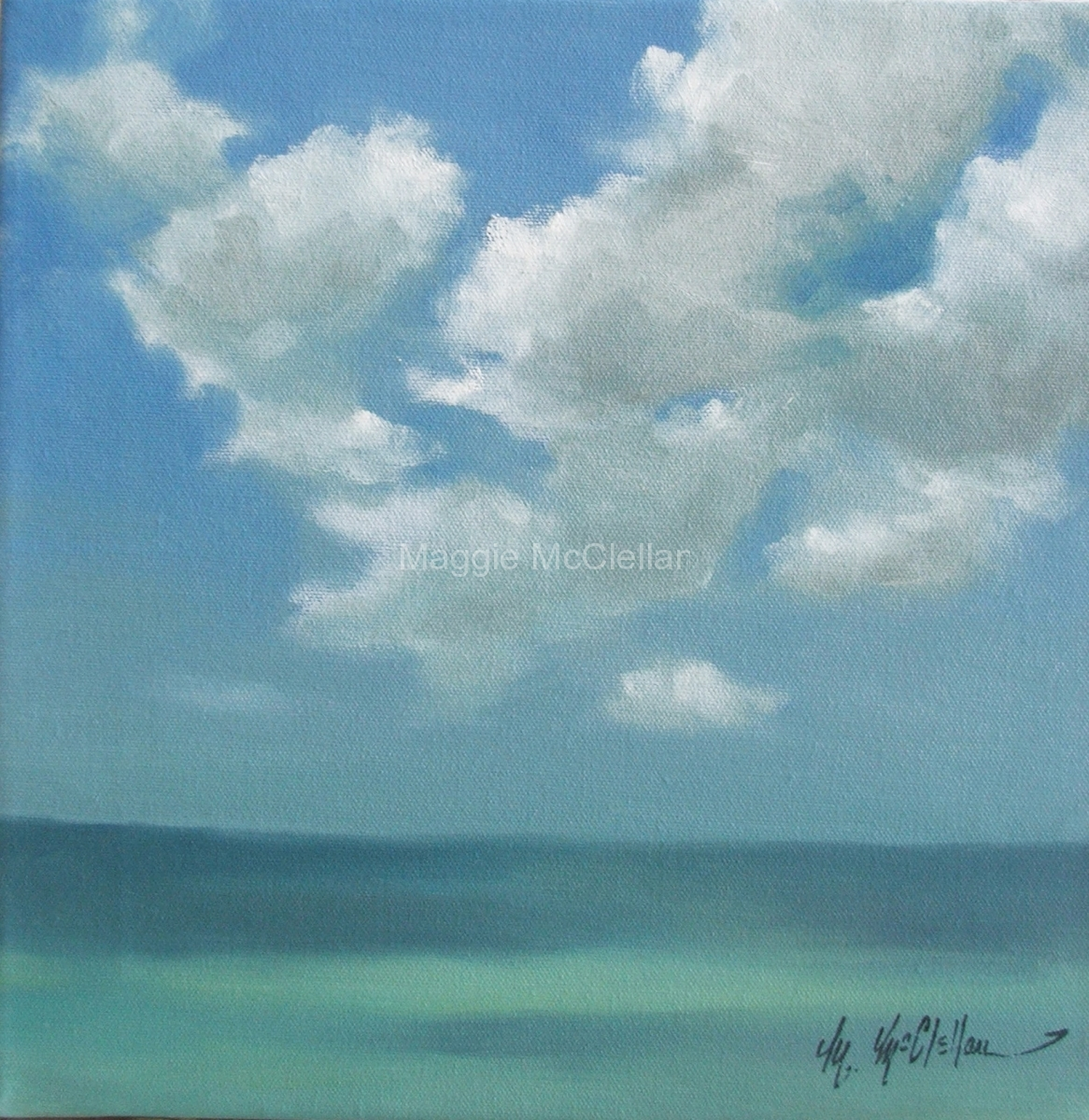 Casey Key Summer Day  - Private Collection