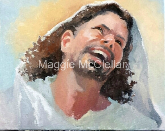 Laughing Jesus  - St.  David's Episcopal Church, Englewood, FL