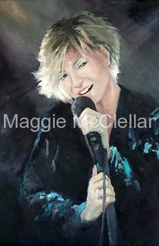 Heather Performing  - Private Collection
