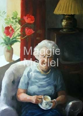 Sheila's Grandmother  - Private Collection