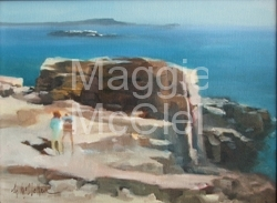 Otter Cliffs  - Private Collection